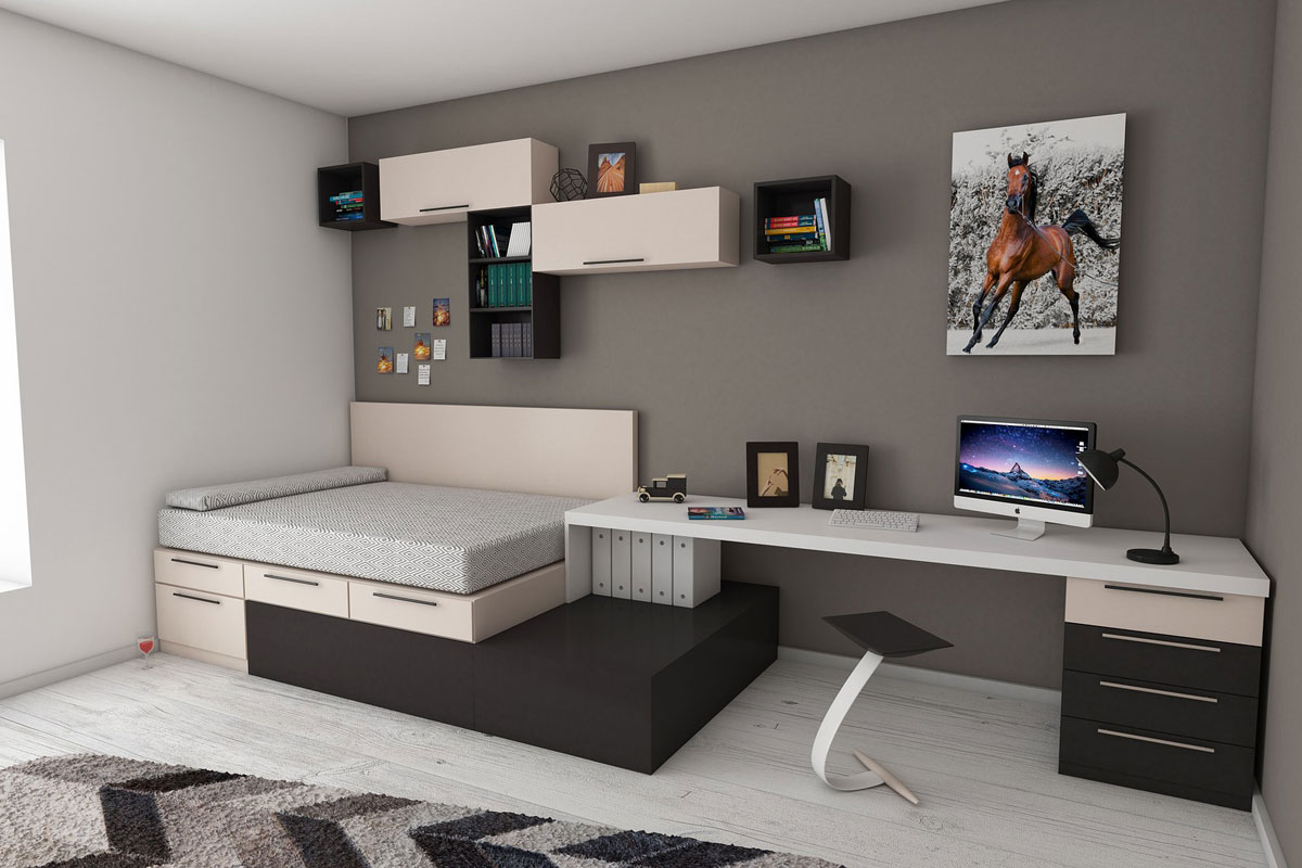ein jugendzimmer trendig einrichten familien tipps zum. Black Bedroom Furniture Sets. Home Design Ideas